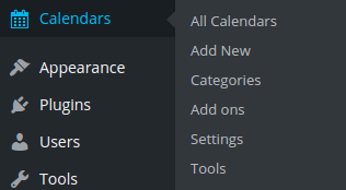 Add New calendar