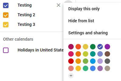 Finding Your Google Calendar ID - Simple Calendar Documentation