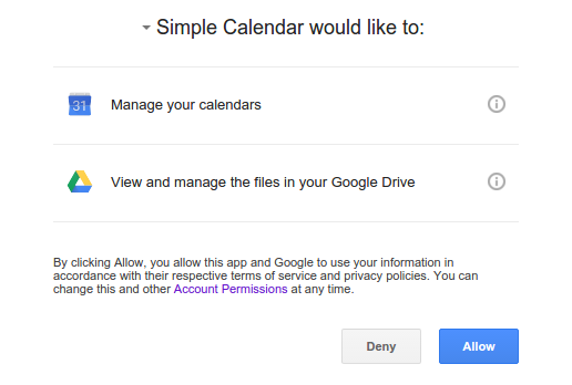 Google App Authorization