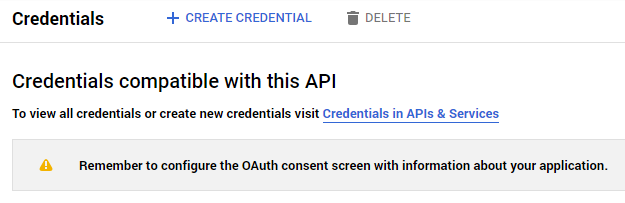 GCal Pro - Configuring a Google OAuth Client - Simple